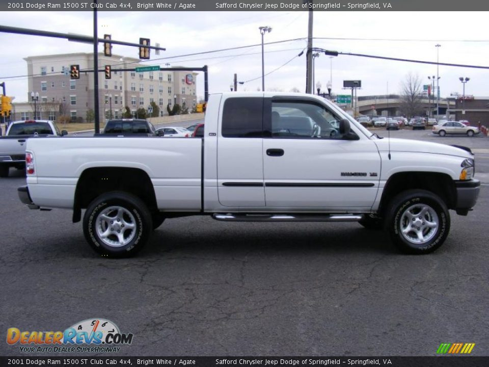 2001 dodge ram 1500 st club cab 4x4 bright white agate photo 4. Black Bedroom Furniture Sets. Home Design Ideas