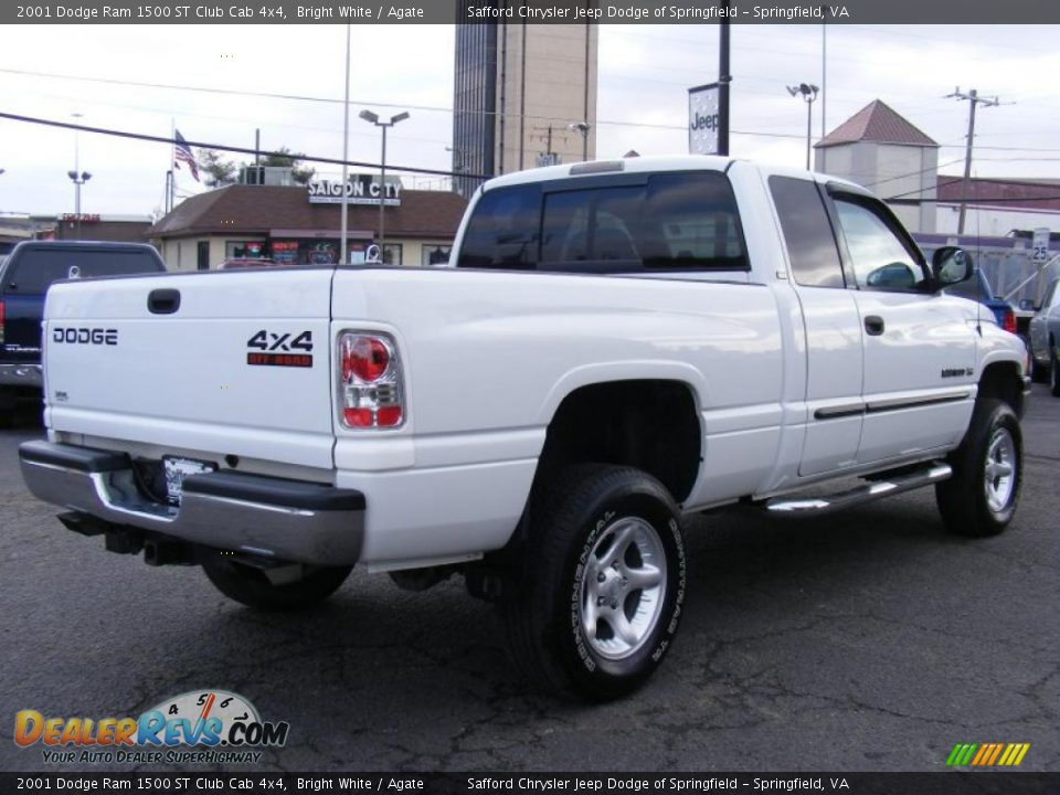 2001 dodge ram 1500 st club cab 4x4 bright white agate photo 5. Black Bedroom Furniture Sets. Home Design Ideas