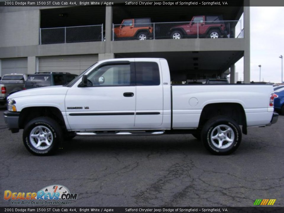 2001 dodge ram 1500 st club cab 4x4 bright white agate photo 8. Black Bedroom Furniture Sets. Home Design Ideas