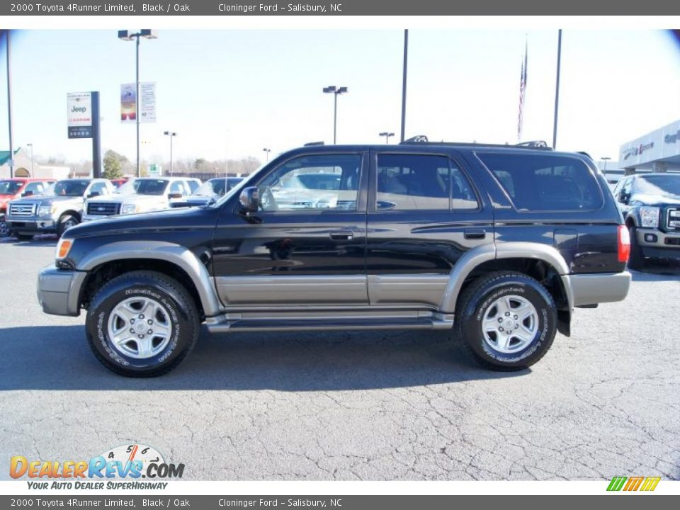 2000 Toyota 4runner Limited Black Oak Photo 5