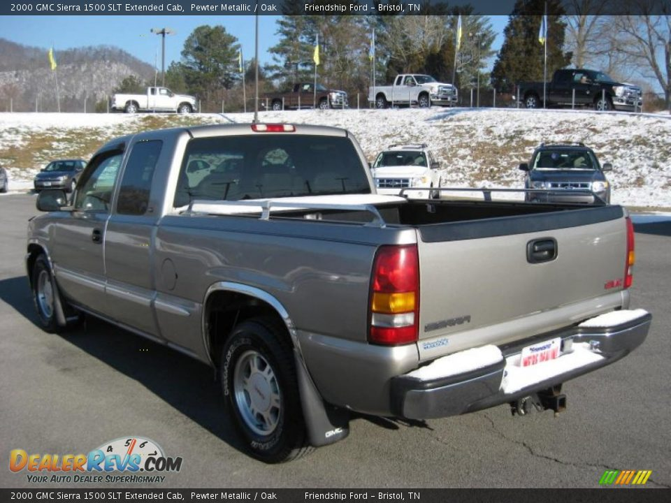 2000 gmc sierra 1500 slt extended cab pewter metallic oak photo 8. Black Bedroom Furniture Sets. Home Design Ideas