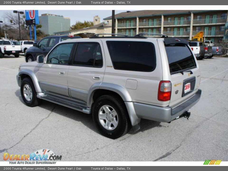 2000 Toyota 4runner Limited Desert Dune Pearl Oak Photo