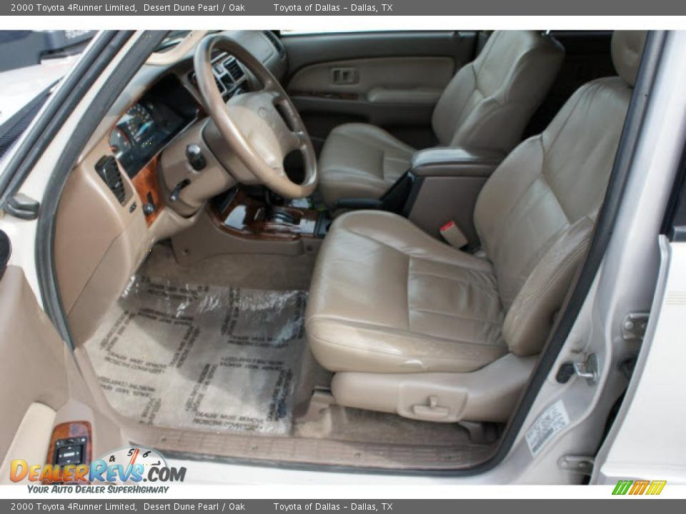 Oak Interior 2000 Toyota 4runner Limited Photo 10