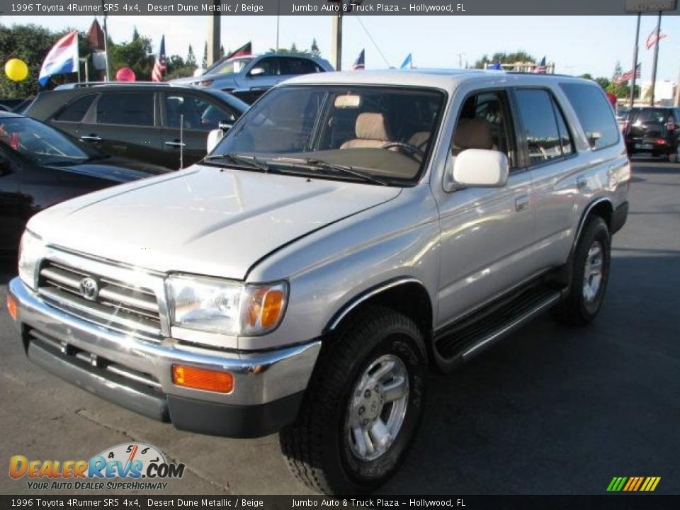 1996 toyota 4runner sr5 4x4 desert dune metallic beige. Black Bedroom Furniture Sets. Home Design Ideas