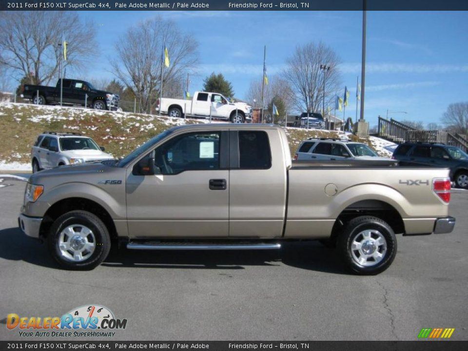 2011 ford f150 xlt supercab 4x4 pale adobe metallic pale adobe photo 1. Black Bedroom Furniture Sets. Home Design Ideas