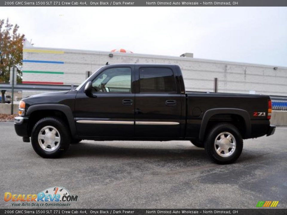 2006 gmc sierra 1500 slt z71 crew cab 4x4 onyx black dark pewter photo 2. Black Bedroom Furniture Sets. Home Design Ideas
