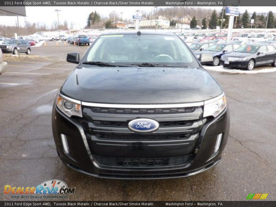 tuxedo black metallic 2011 ford edge sport awd photo 7. Black Bedroom Furniture Sets. Home Design Ideas