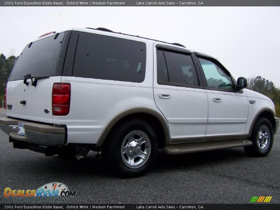 2001 ford expedition eddie bauer oxford white medium. Black Bedroom Furniture Sets. Home Design Ideas