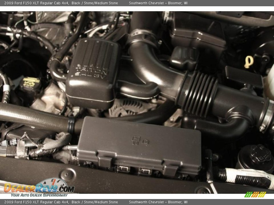 Motor Triton 5.4 Ford >> 2009 Ford F150 XLT Regular Cab 4x4 5.4 Liter SOHC 24-Valve VVT Triton V8 Engine Photo #15 ...