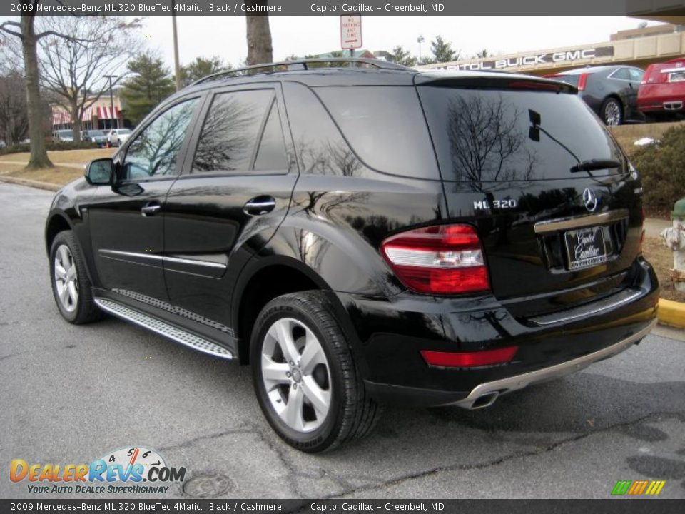 2009 mercedes benz ml 320 bluetec 4matic black cashmere. Black Bedroom Furniture Sets. Home Design Ideas