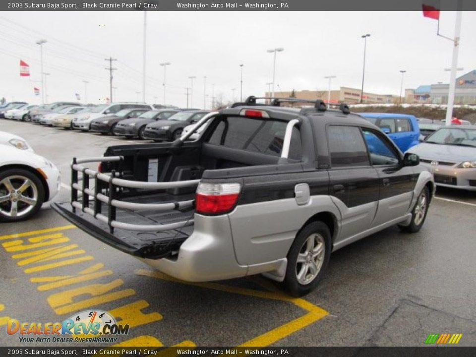 2003 subaru baja sport black granite pearl gray photo 8. Black Bedroom Furniture Sets. Home Design Ideas