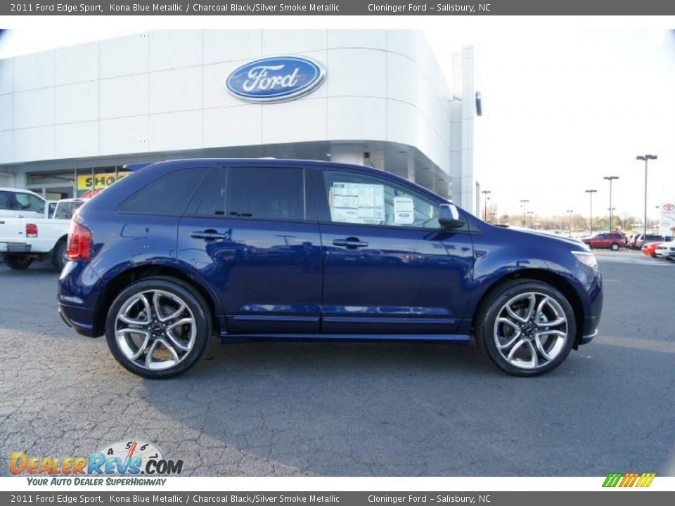 Kona Blue Metallic  Ford Edge Sport Photo