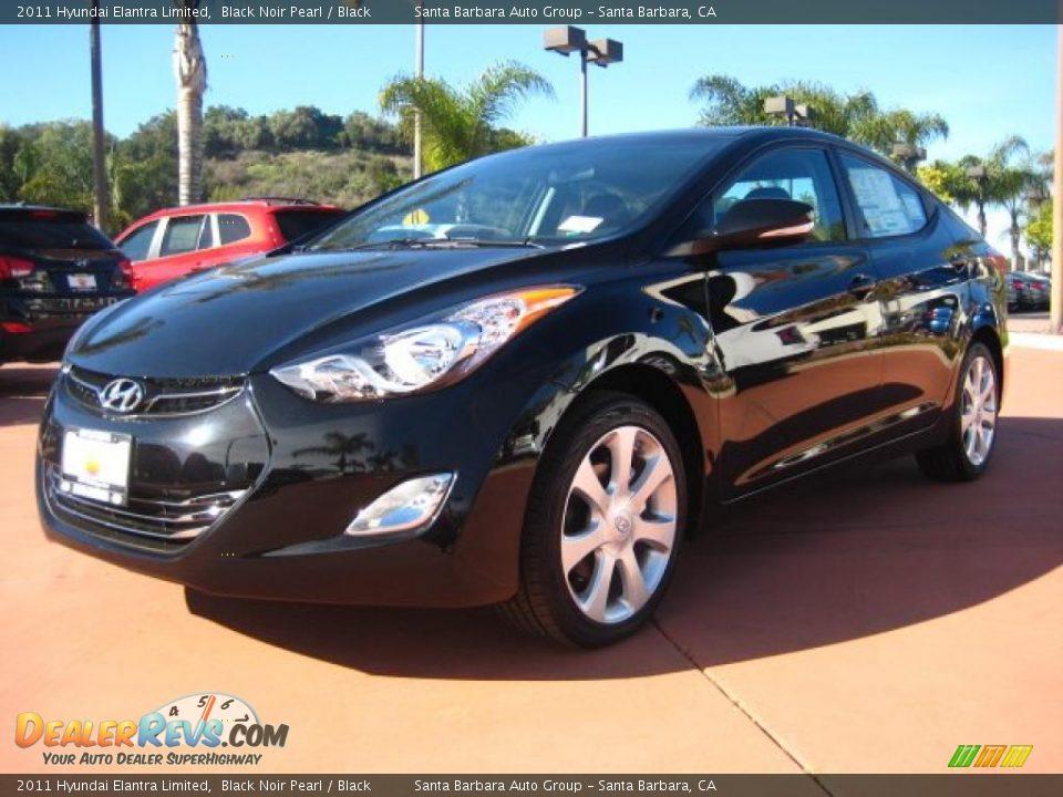 2011 Hyundai Elantra Limited Black Noir Pearl Black