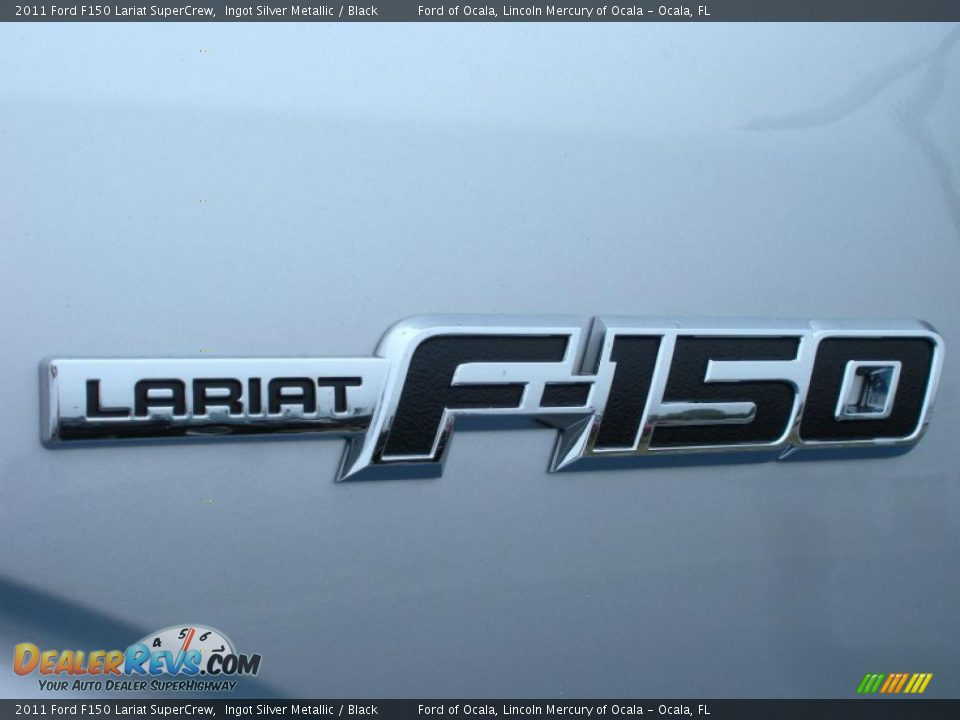 2011 Ford F150 Lariat SuperCrew Logo Photo #4