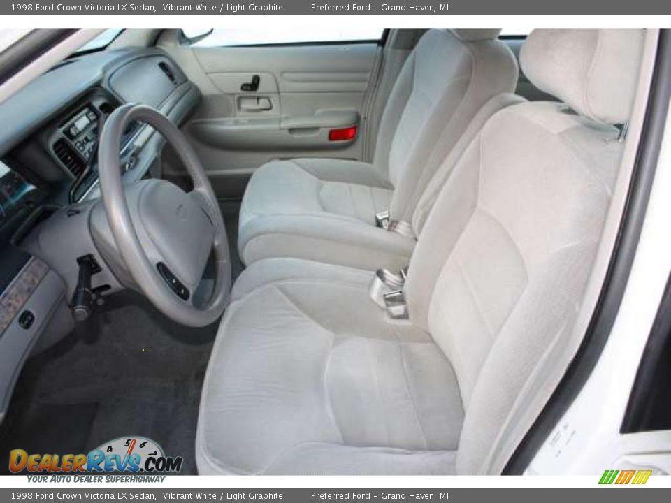 Light Graphite Interior 1998 Ford Crown Victoria Lx Sedan Photo 9