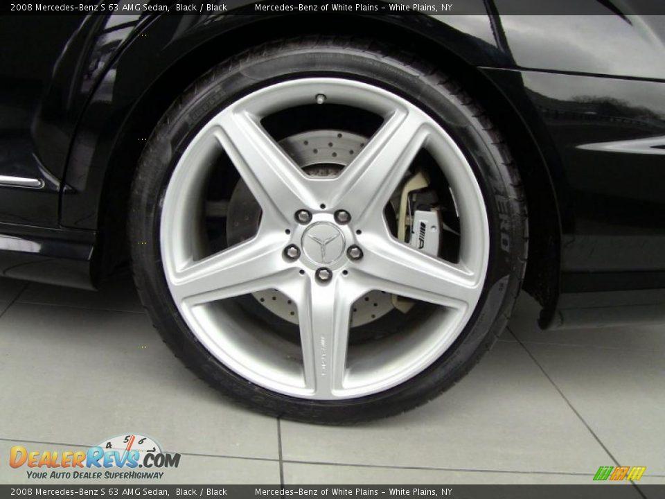 2008 mercedes benz s 63 amg sedan wheel photo 6 for Six wheel mercedes benz