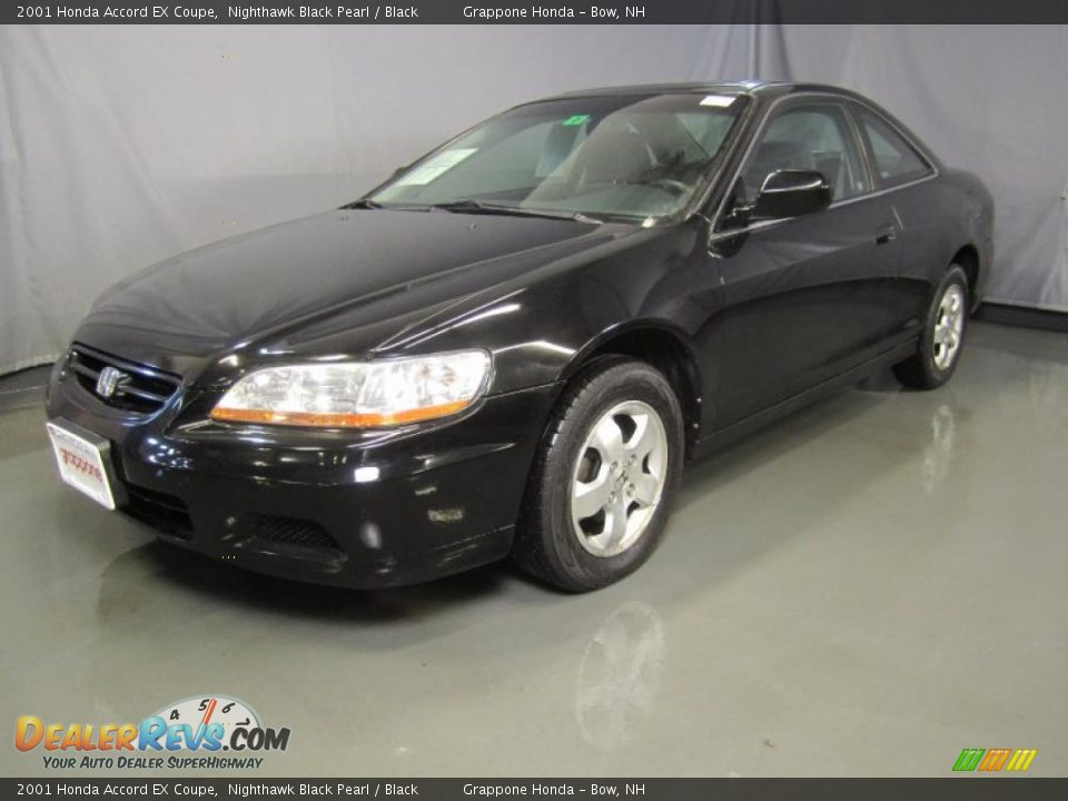 2001 honda accord ex coupe nighthawk black pearl black photo 1. Black Bedroom Furniture Sets. Home Design Ideas