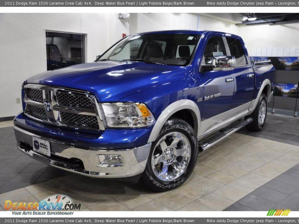 Dodge Ram 2017 >> 2011 Dodge Ram 1500 Laramie Crew Cab 4x4 Deep Water Blue ...