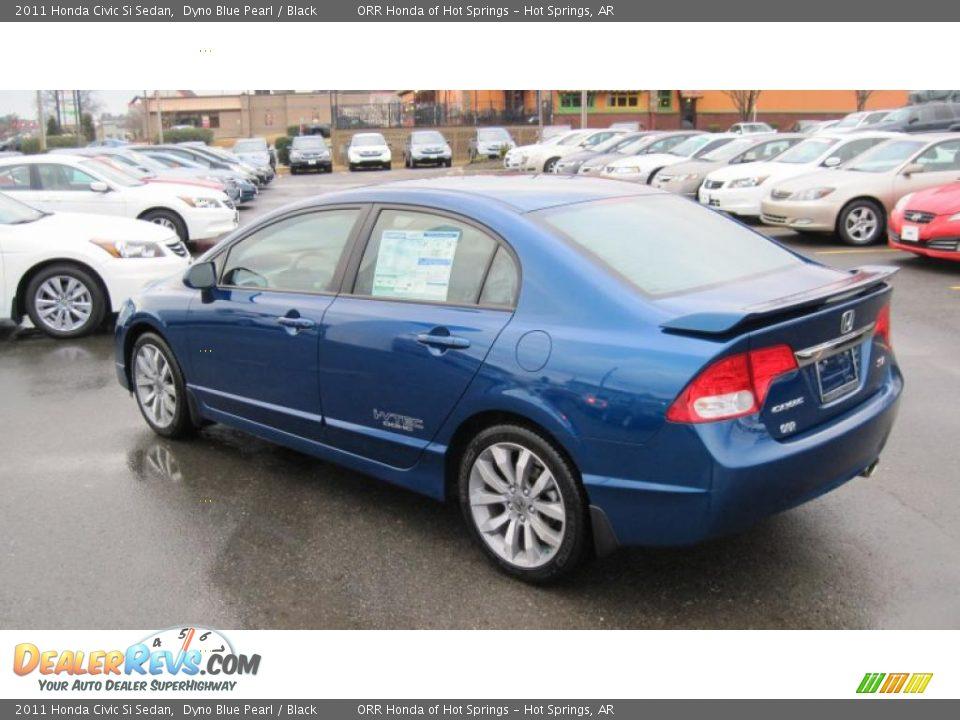Dyno Blue Pearl 2011 Honda Civic Si Sedan Photo #3 | DealerRevs.com
