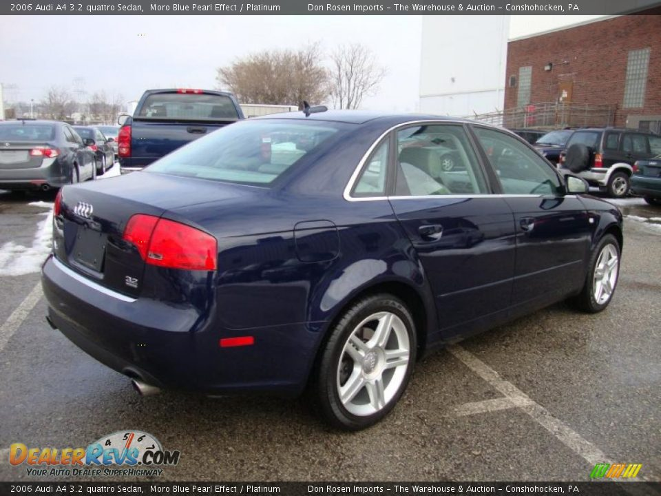 moro blue pearl effect 2006 audi a4 3 2 quattro sedan photo 8. Black Bedroom Furniture Sets. Home Design Ideas