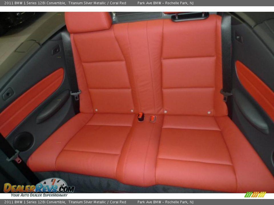 Bmw 128i Convertible >> Coral Red Interior - 2011 BMW 1 Series 128i Convertible Photo #5 | DealerRevs.com