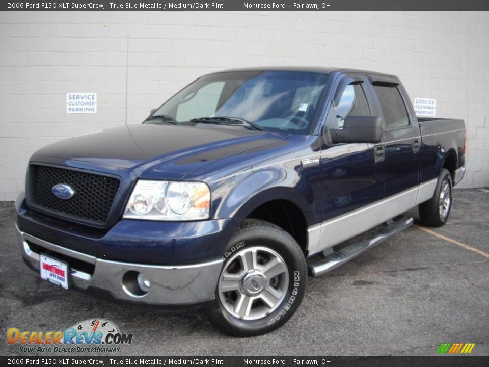 2006 ford f150 xlt supercrew true blue metallic medium. Black Bedroom Furniture Sets. Home Design Ideas