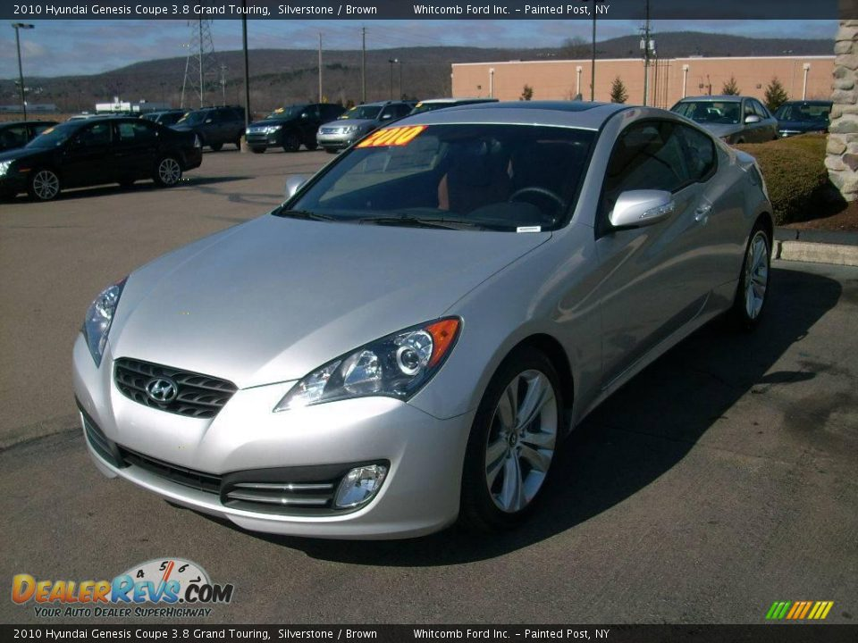 2010 hyundai genesis coupe 3 8 grand touring silverstone brown photo 1. Black Bedroom Furniture Sets. Home Design Ideas