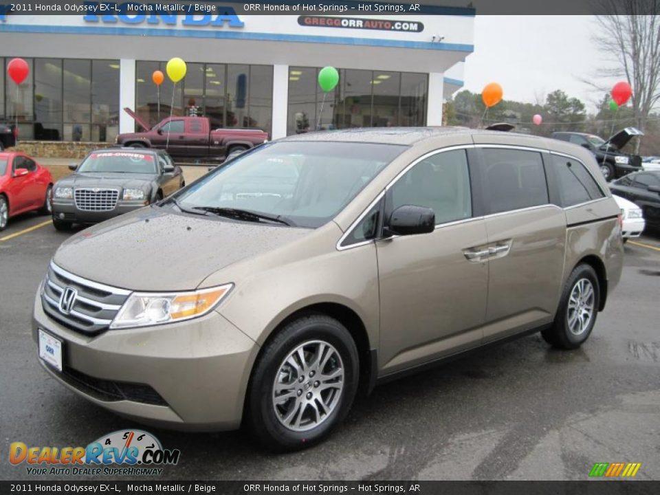 2011 Honda Odyssey Ex L Mocha Metallic Beige Photo 1