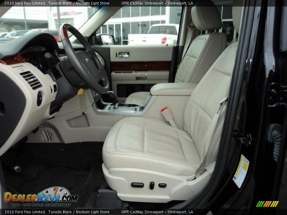 medium light stone interior 2010 ford flex limited photo. Black Bedroom Furniture Sets. Home Design Ideas