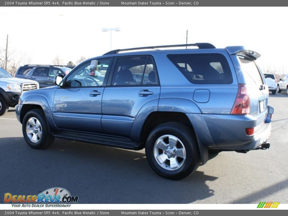 2004 Toyota 4runner Sr5 4x4 Pacific Blue Metallic Stone