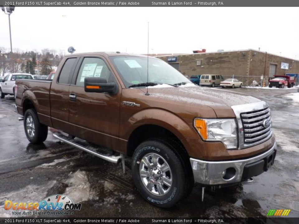 2011 ford f150 xlt supercab 4x4 golden bronze metallic pale adobe photo 1. Black Bedroom Furniture Sets. Home Design Ideas