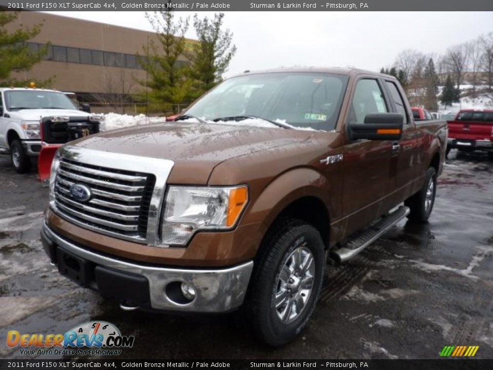 2011 ford f150 xlt supercab 4x4 golden bronze metallic pale adobe photo 5. Black Bedroom Furniture Sets. Home Design Ideas