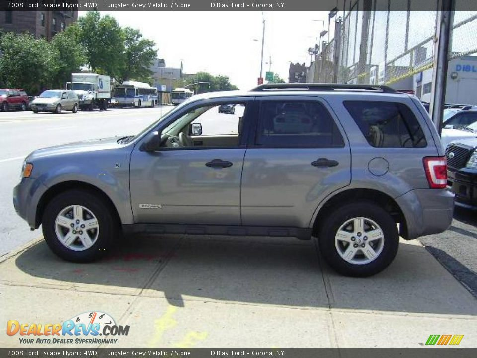 2008 ford escape hybrid 4wd tungsten grey metallic stone. Black Bedroom Furniture Sets. Home Design Ideas