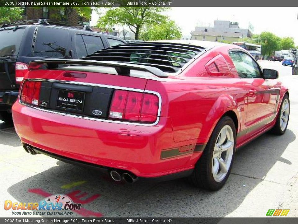 2008 ford mustang saleen heritage 302 torch red black photo 10. Black Bedroom Furniture Sets. Home Design Ideas