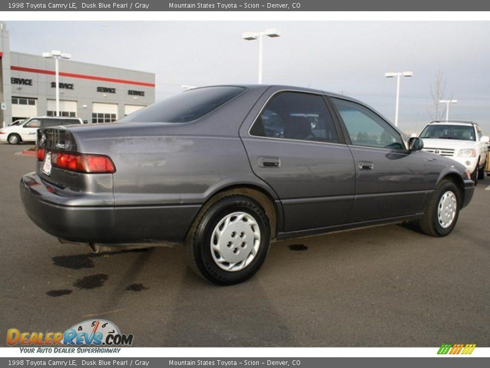 1998 Toyota Camry Le Dusk Blue Pearl Gray Photo 2
