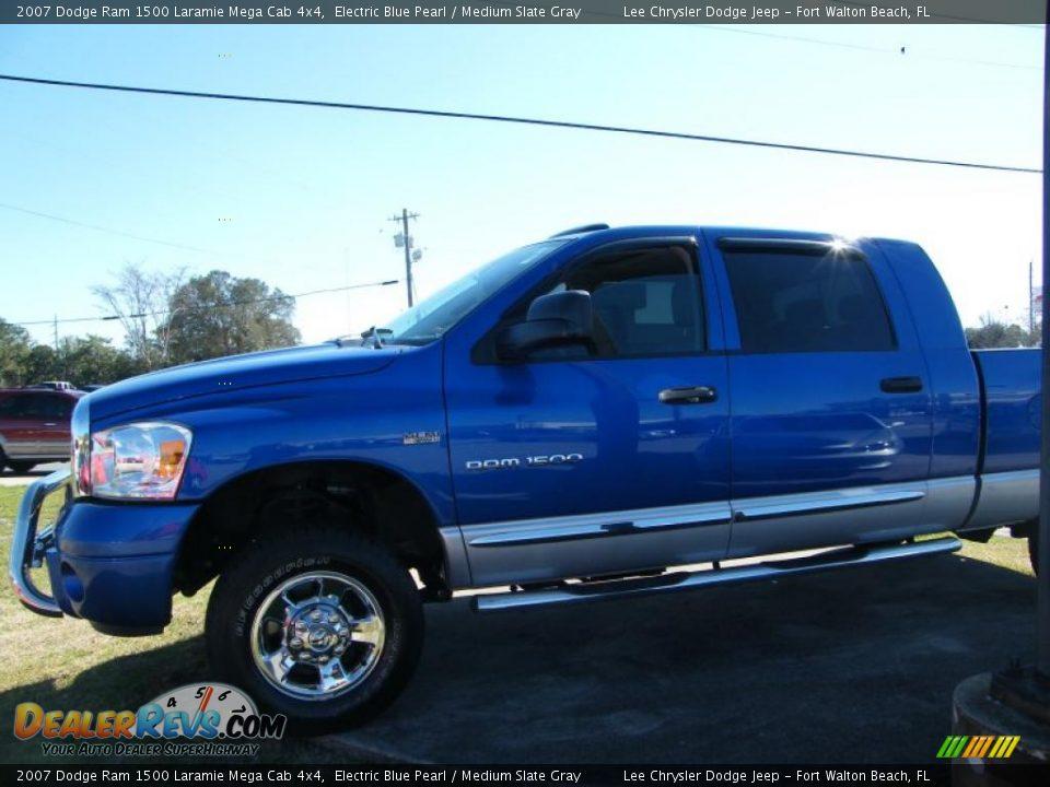2007 Dodge Ram 1500 Laramie Mega Cab 4x4 Electric Blue
