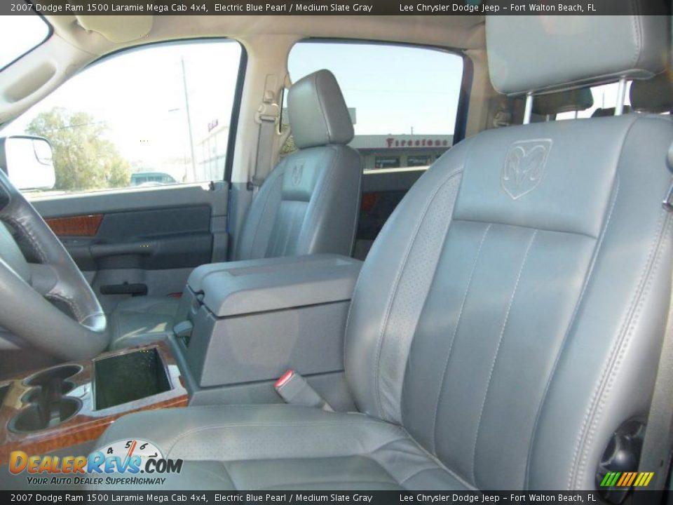 Medium Slate Gray Interior 2007 Dodge Ram 1500 Laramie Mega Cab 4x4 Photo 14