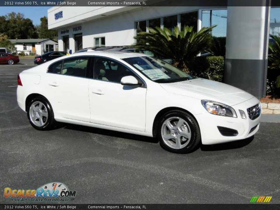 2012 volvo s60 t5 ice white soft beige photo 10. Black Bedroom Furniture Sets. Home Design Ideas