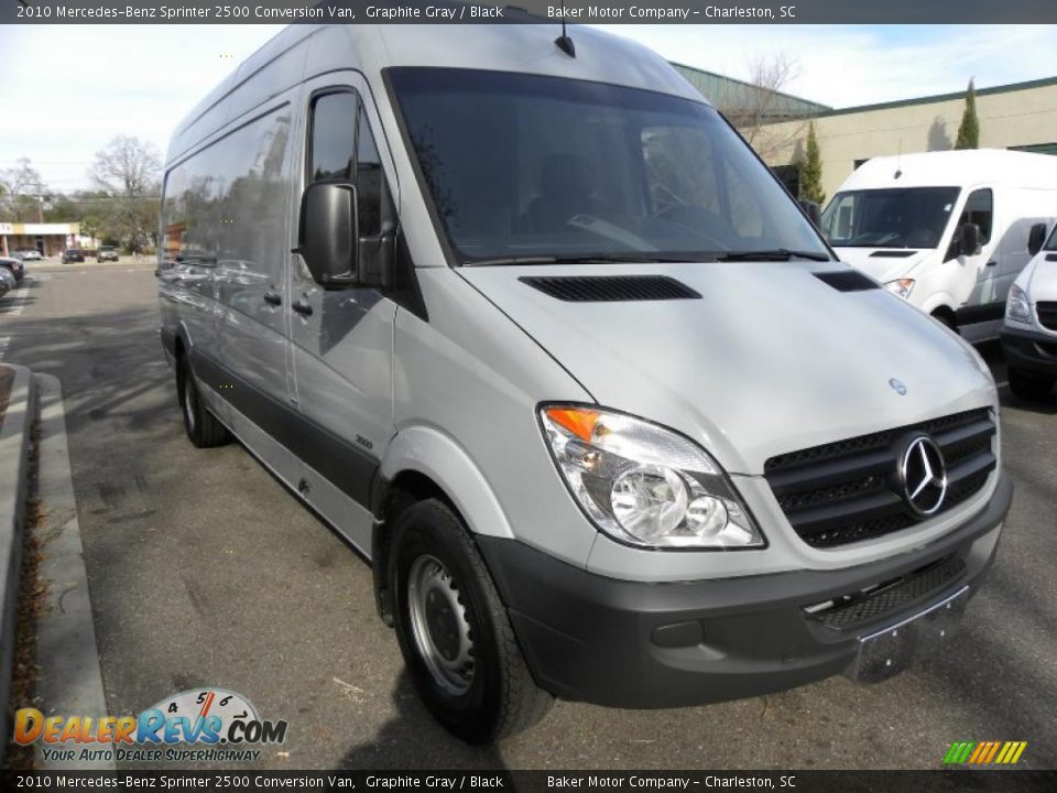 2010 mercedes benz sprinter 2500 conversion van graphite for 2010 mercedes benz 2500