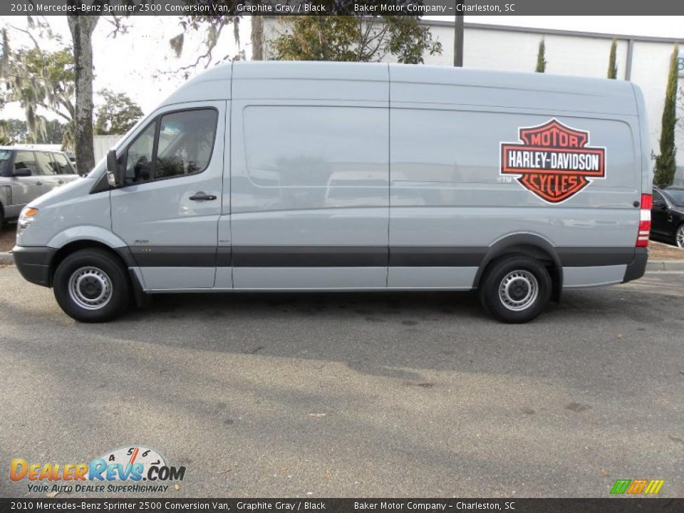 2010 mercedes benz sprinter 2500 conversion van graphite for Mercedes benz sprinter service