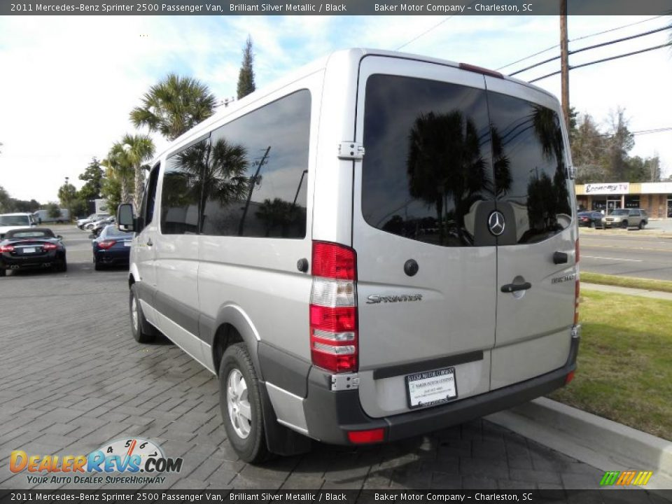 Brilliant silver metallic 2011 mercedes benz sprinter 2500 for Mercedes benz sprinter 15 passenger
