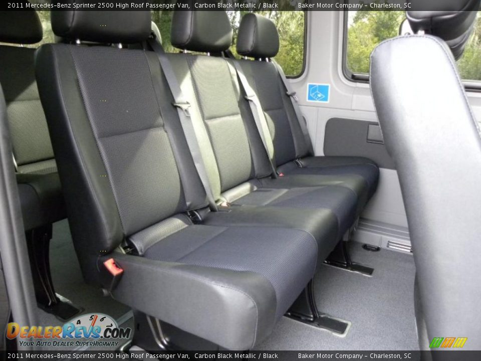 Black Interior 2011 Mercedes Benz Sprinter 2500 High