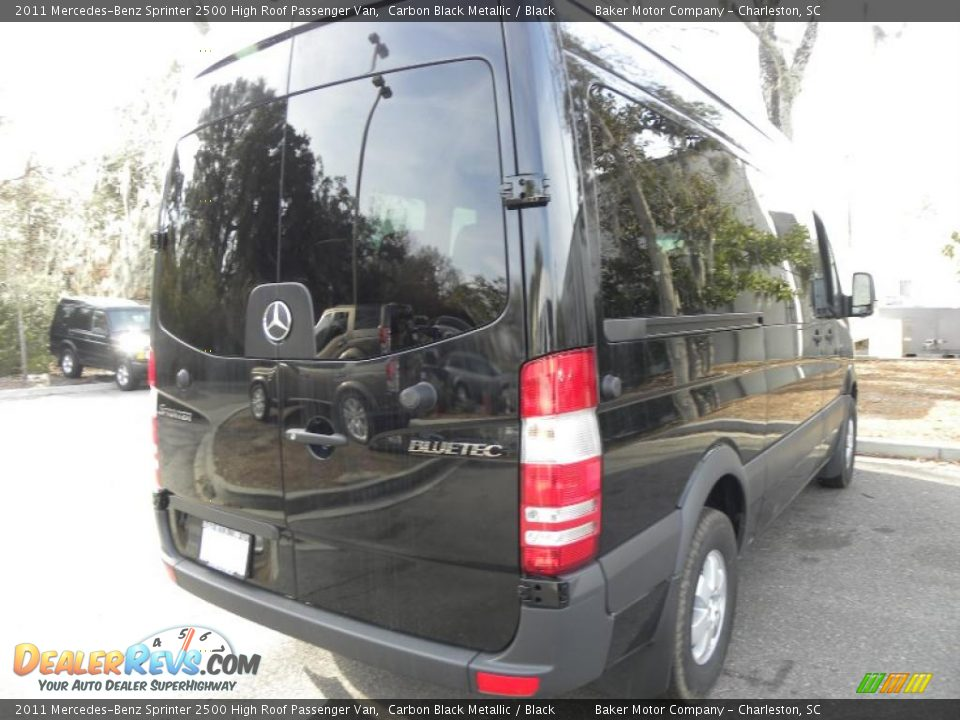 Carbon black metallic 2011 mercedes benz sprinter 2500 for Mercedes benz sprinter service