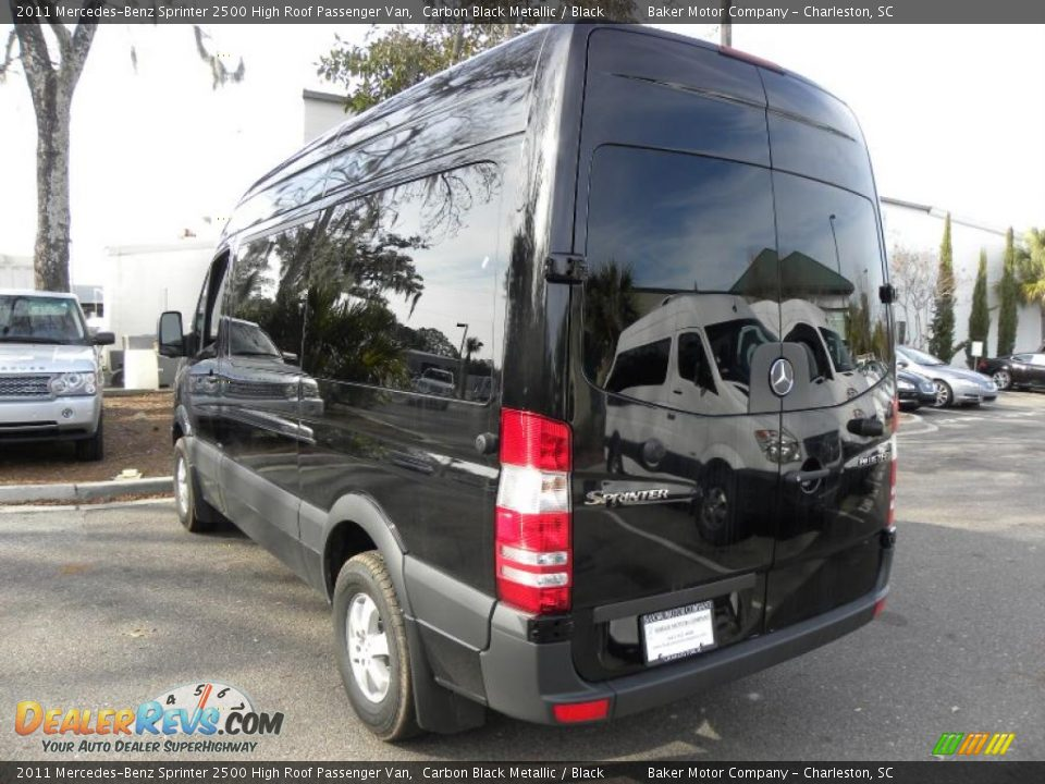 Carbon Black Metallic 2011 Mercedes Benz Sprinter 2500