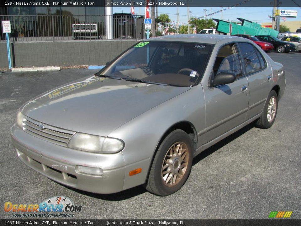1997 Nissan Altima Gxe Platinum Metallic Tan Photo 5