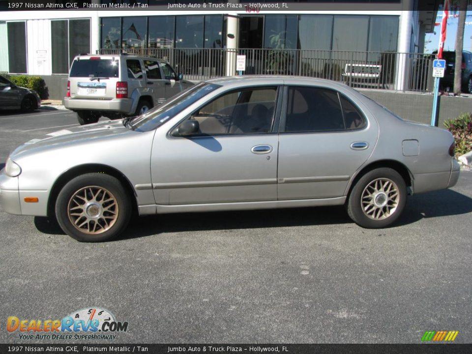 1997 Nissan Altima Gxe Platinum Metallic Tan Photo 6