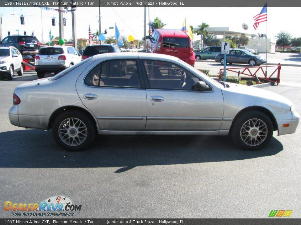 1997 Nissan Altima Gxe Platinum Metallic Tan Photo 11