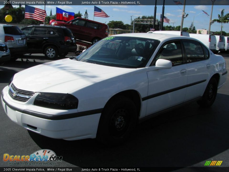 2005 chevrolet impala police white regal blue photo 5 dealerrevs com