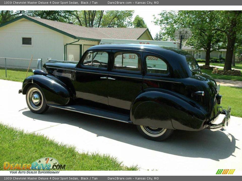1939 chevrolet master deluxe 4 door sport sedan black for 1939 chevy 4 door sedan