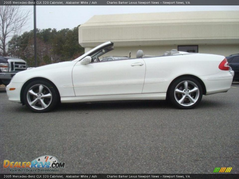 2005 mercedes benz clk 320 cabriolet alabaster white ash photo 3. Black Bedroom Furniture Sets. Home Design Ideas